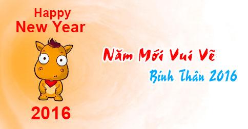 Ảnh chúc năm mới vui vẻ dễ thương nhất 2016 - ảnh 5