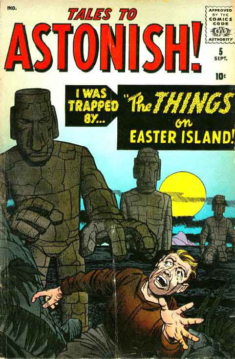 Artists tales to astonish 5 jack kirby art amp cover al williamson