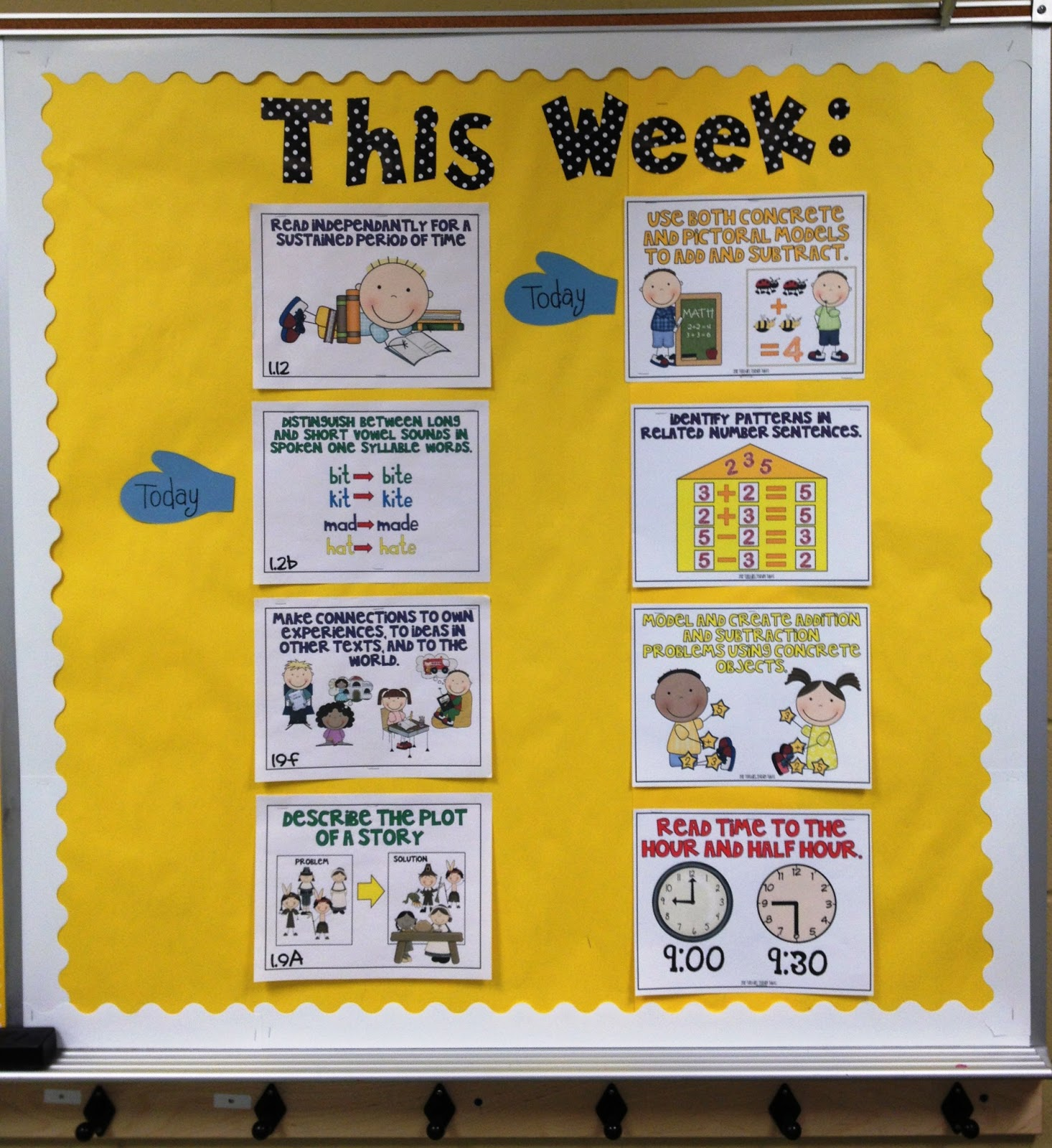 Classroom Pictures-Ready for January! - Tunstall\'s Teaching Tidbits