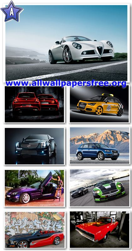 100 Amazing Cars Widescreen Wallpapers 1920 X 1200 [Set 5]