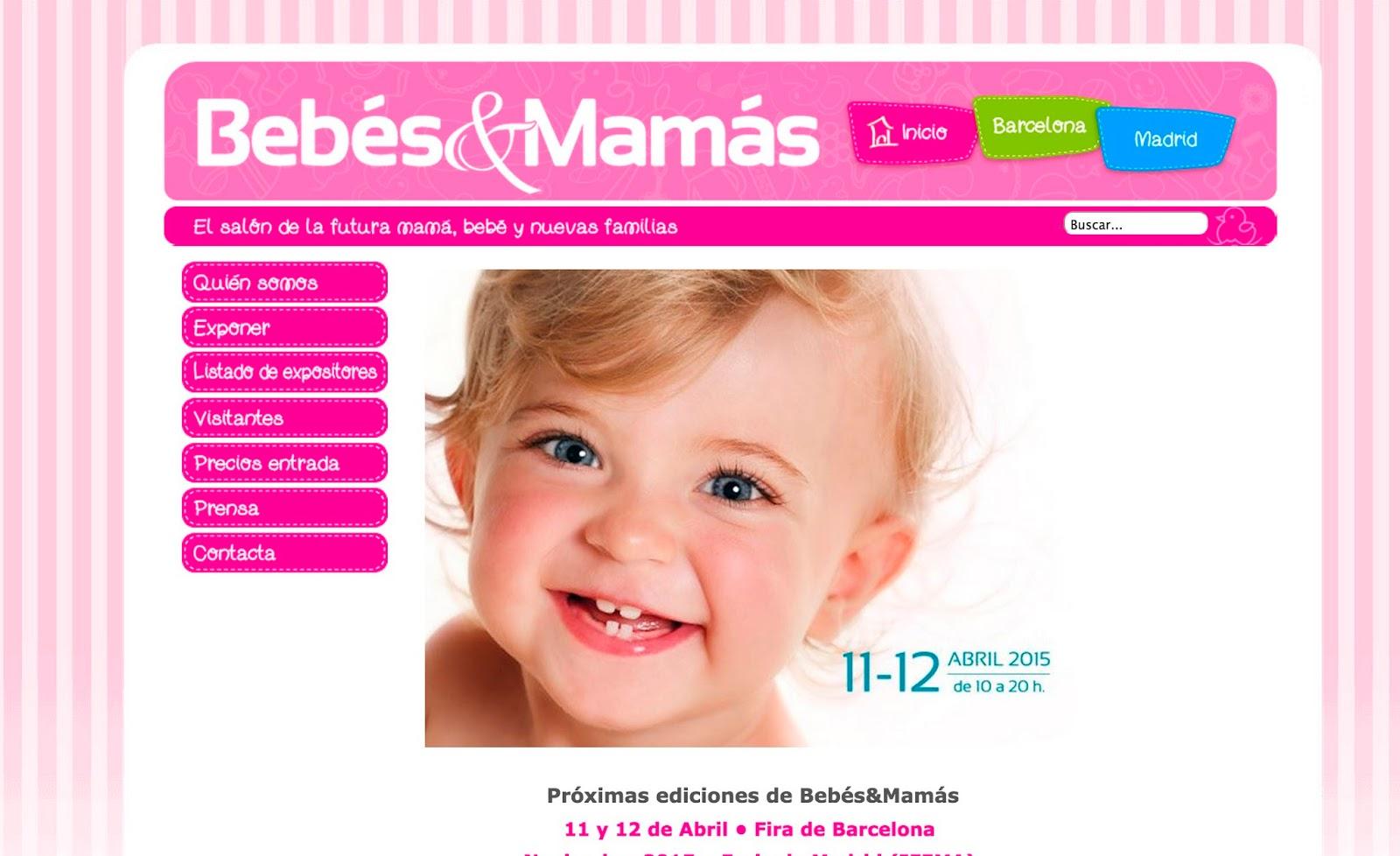 Maria, la ganadora del cartel del salón del bebé Bebés&Mamás