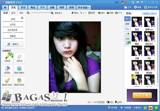 Xiu Xiu Meitu 3.9.0 Photo Editor 2