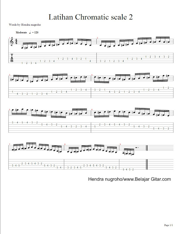 latihan chromatic scale 1 - page 2