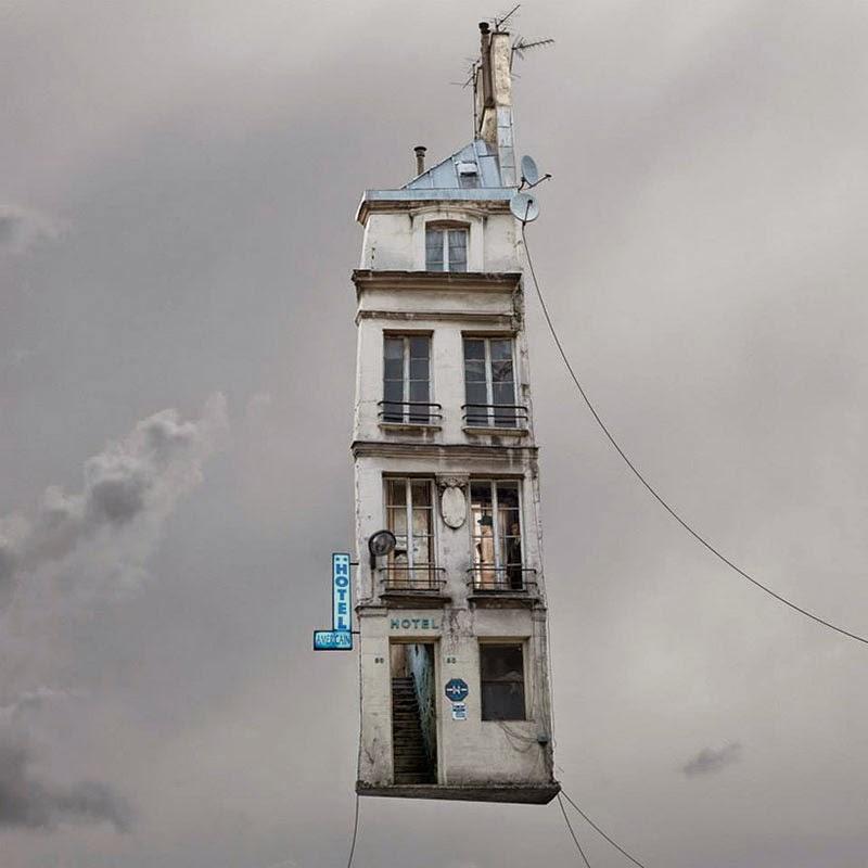 casas voladoras de Laurent Chéhère