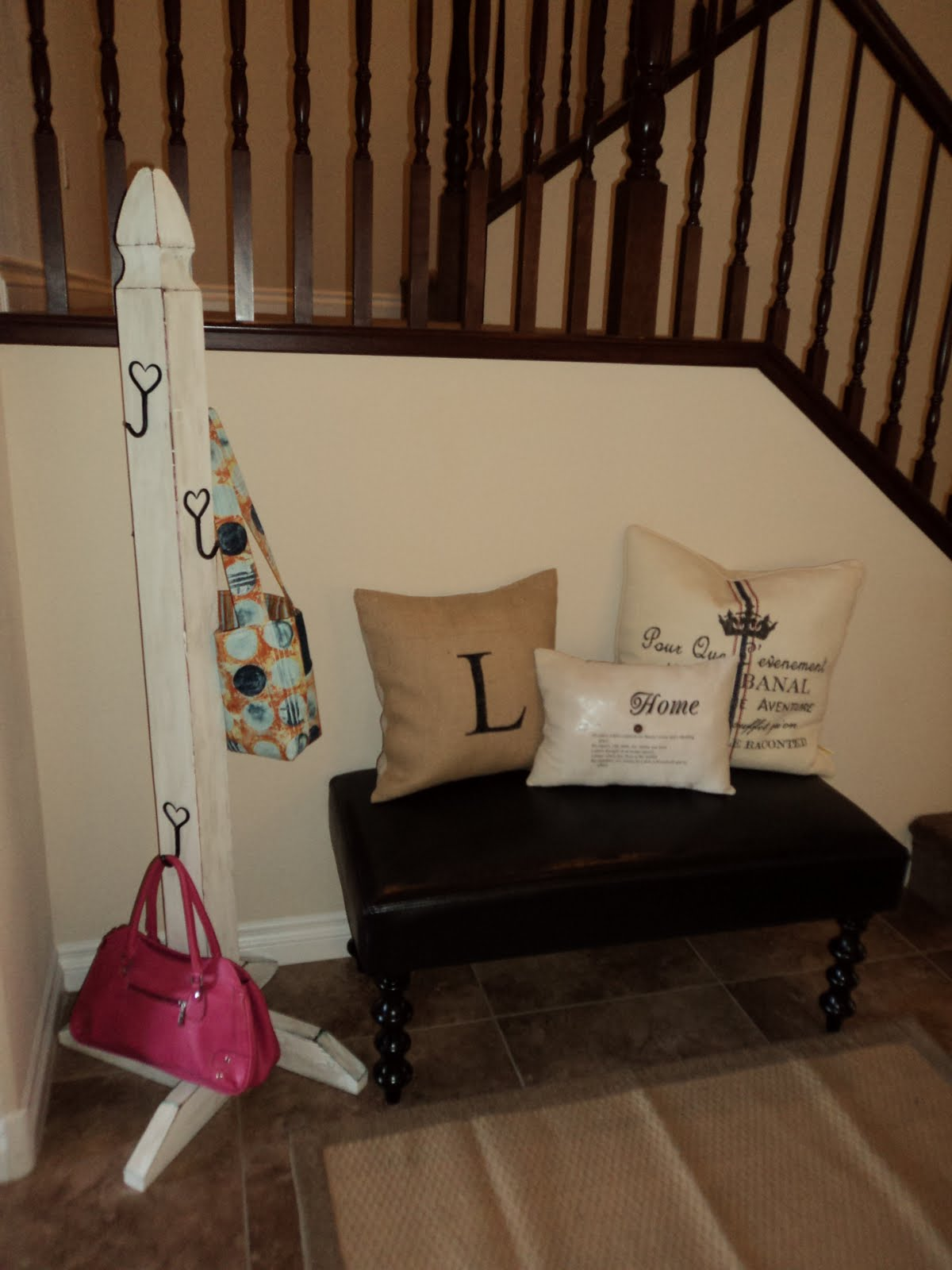 crafty vegas mom stocking stand for the pink purse its a re do