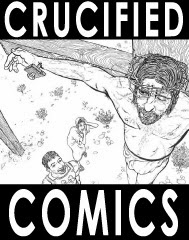 Crucified Comics - book ordering page