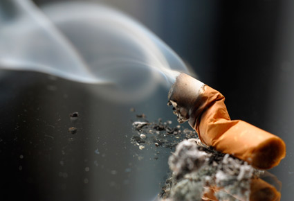 smoking herbal tobacco