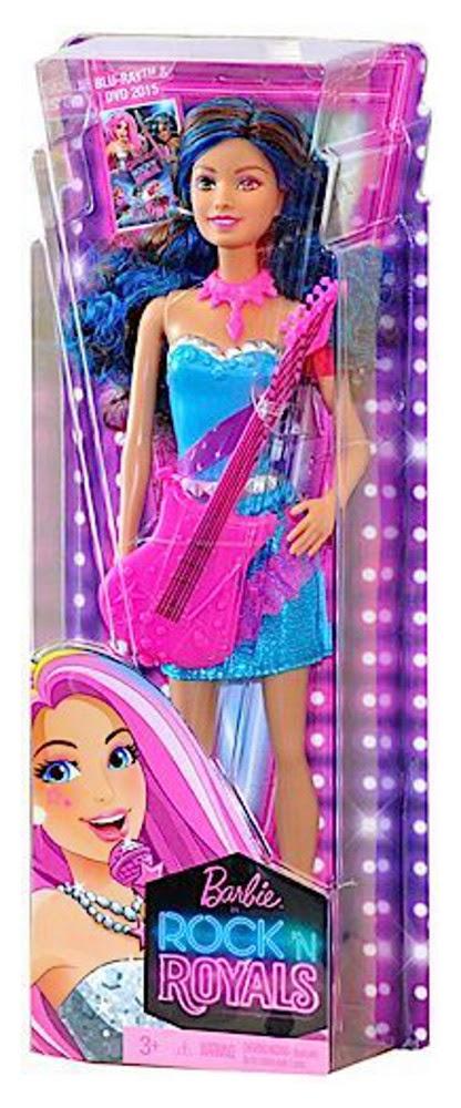 JUGUETES- Barbie in Rock'n Royals - Erika | Muñeca - Doll  Toys | Producto Oficial Película | Mattel CKB67 | A partir de 3 años