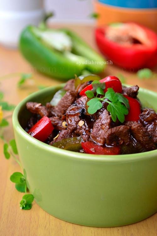 Tumis Daging Paprika