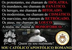 SER CATÓLICO NÃO É FÁCIL !!!