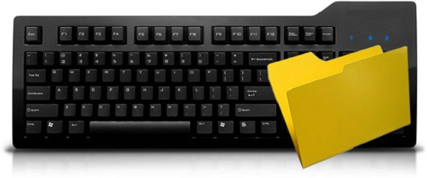 Create a New Folder using Keyboard