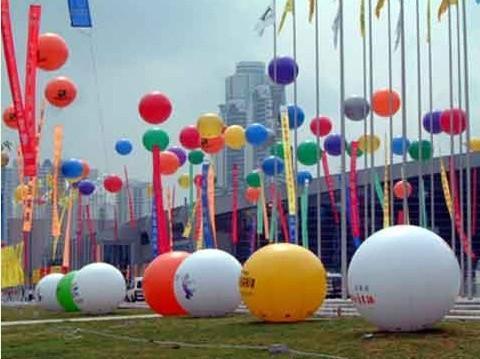 Воздушный шар реклама