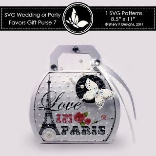SVG & Printable Favors Gift Purse