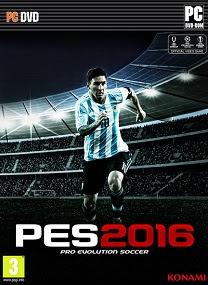 Pro Evolution Soccer (PES) 2016 Repack By R.G. Mechanics Full Version cover