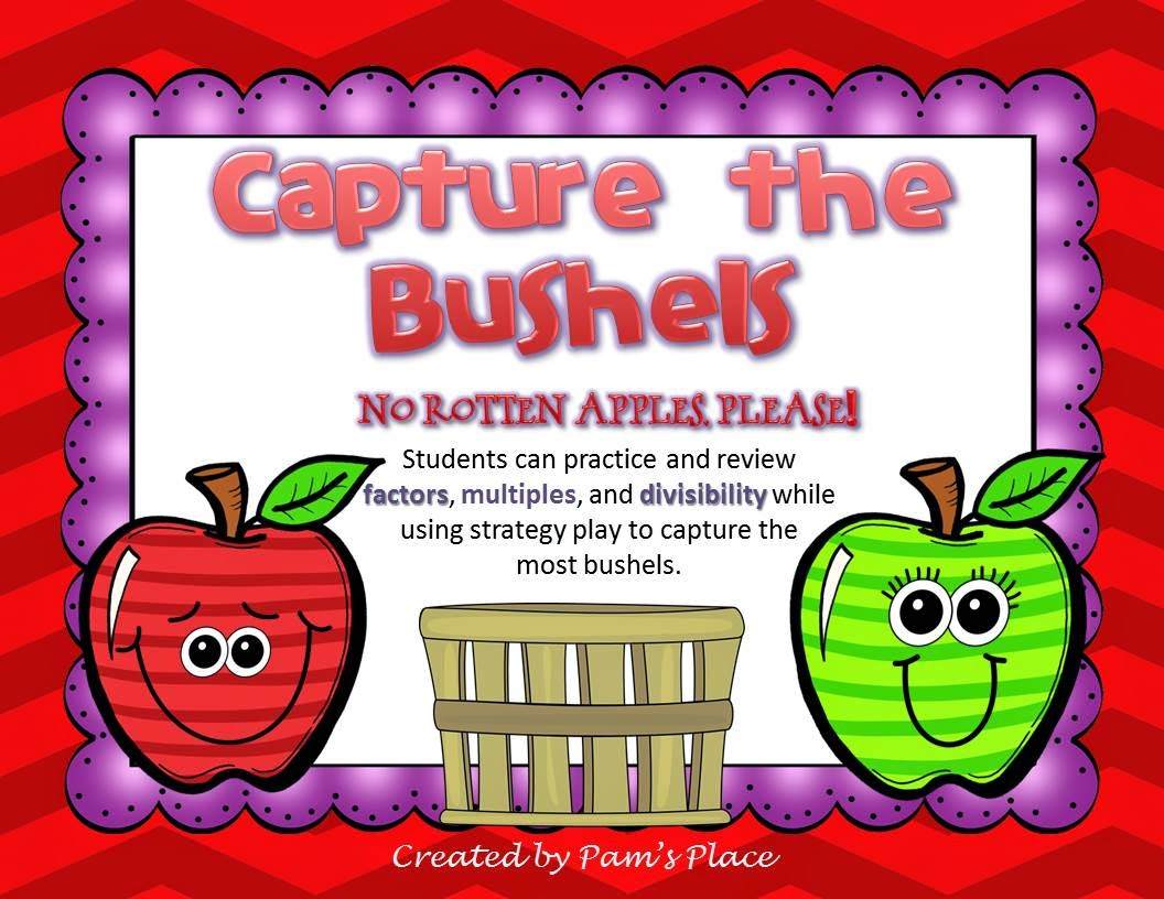 http://www.teacherspayteachers.com/Product/Multiples-and-Factors-Capture-the-Bushels-1272496