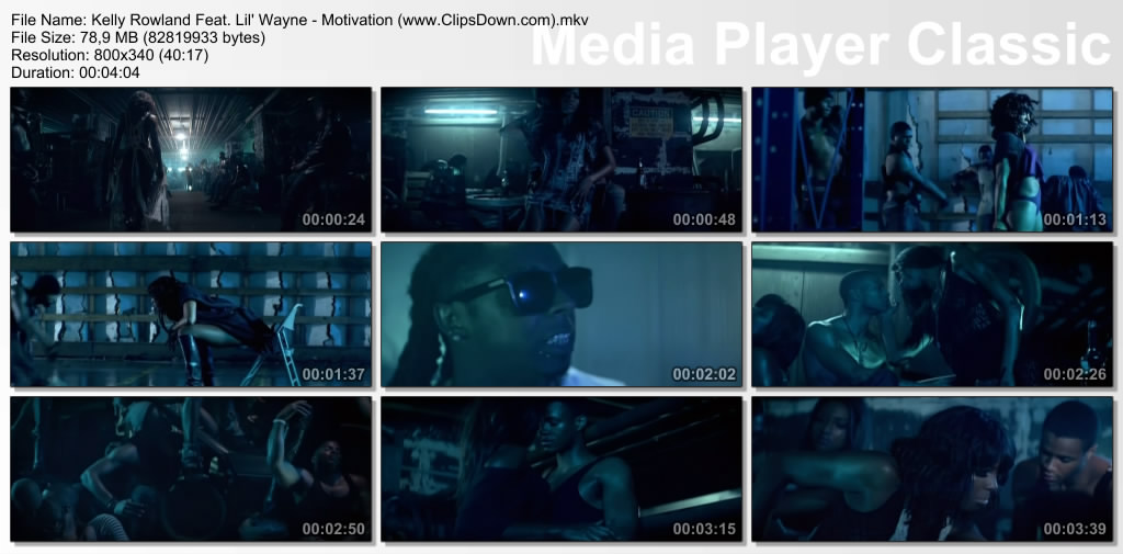 kelly rowland motivation video stills. Kelly Rowland Feat.