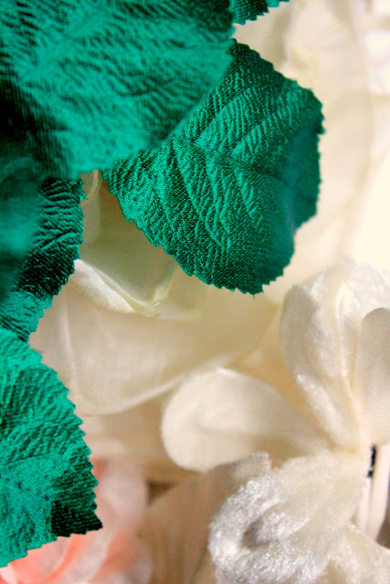 design materials - catherine masi - emerald and ivory