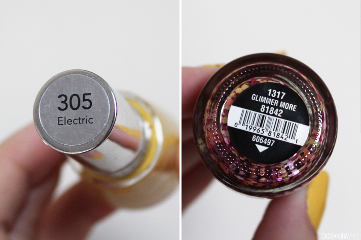 NOTD // Revlon Top Speed Electric + China Glaze Glimmer More - CassandraMyee