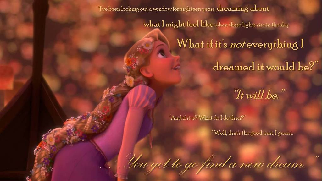 Quotes From Tangled About Dreams Download
