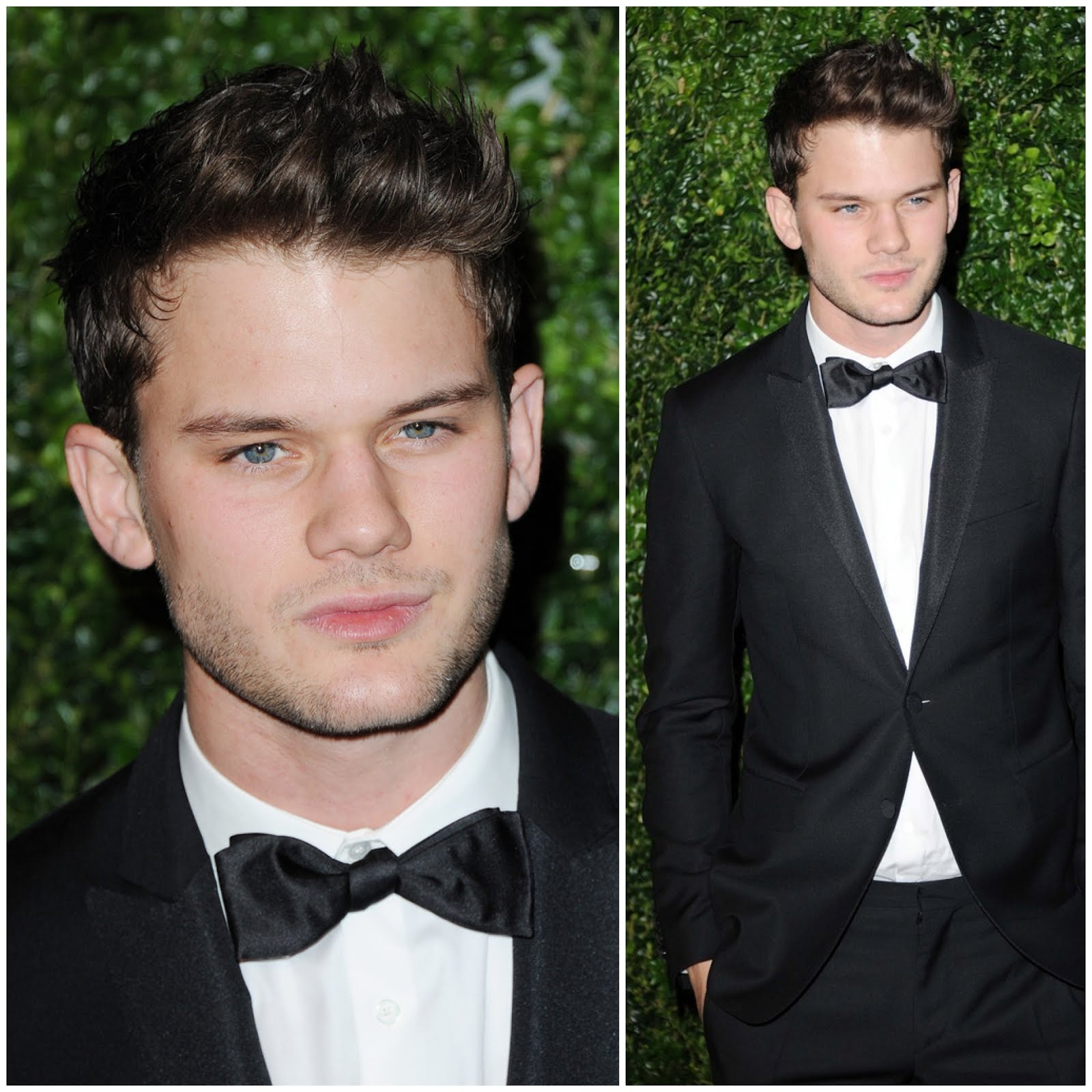 Jeremy Irvine in Burberry -  58th London Evening Standard Theatre Awards