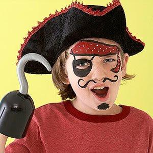 Disfraces y maquillaje para halloween lodijoella - Maquillaje pirata nina ...