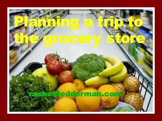 Planning a trip to the grocery store