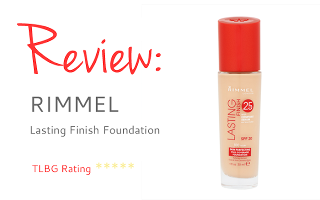 Review: Rimmel Lasting Finish Foundation