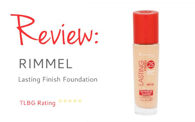 Review: Rimmel Lasting Finish Foundation