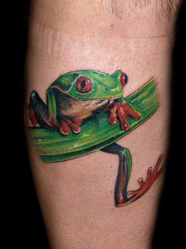 trends tattoo collection frog tattoos. Black Bedroom Furniture Sets. Home Design Ideas