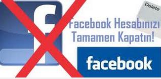 facebook tamamen hesap kapatma