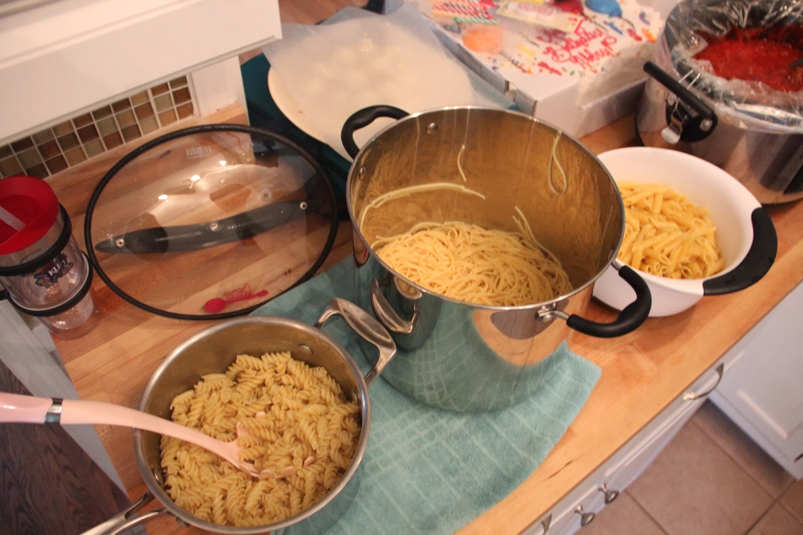 how to cook pasta in sistema