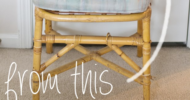 sarah m. dorsey designs: plain rattan chair to chinese chippendale