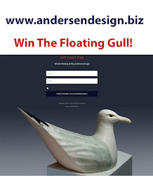 Win A Graceful Stoneware Seagull by Andersen Design
