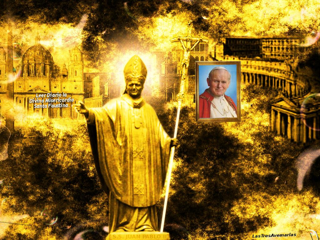 cuadro del papa juan pablo segundo