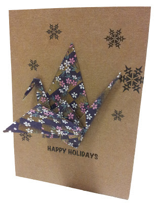 how to make origami greeting cards