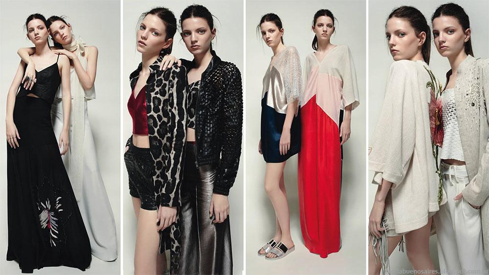 Moda 2015. Moda verano 2015 Allo Martinez ropa de mujer tendencias de moda 2015.