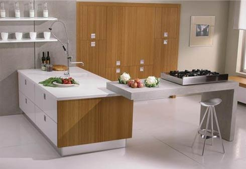 Modern Kitchen Design on Laorosa   Design Junky  Modern   Contemporary Kitchen Island Designs