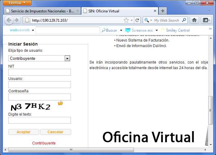 Envio de libros compras y ventas modulo davinci for Oficina virtual bankinter