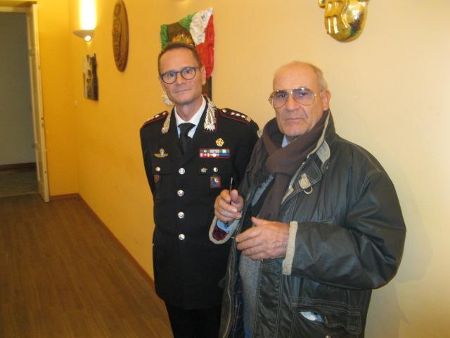 Il Direttore del blog international invitato alla presenazione del calendario dei Carabinieri 2017