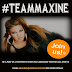 #TeamMaxine - join the movement