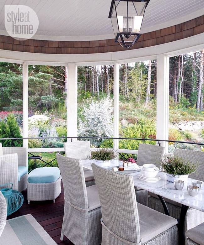 Дизайн интерьера: белоснежный дом в Канаде