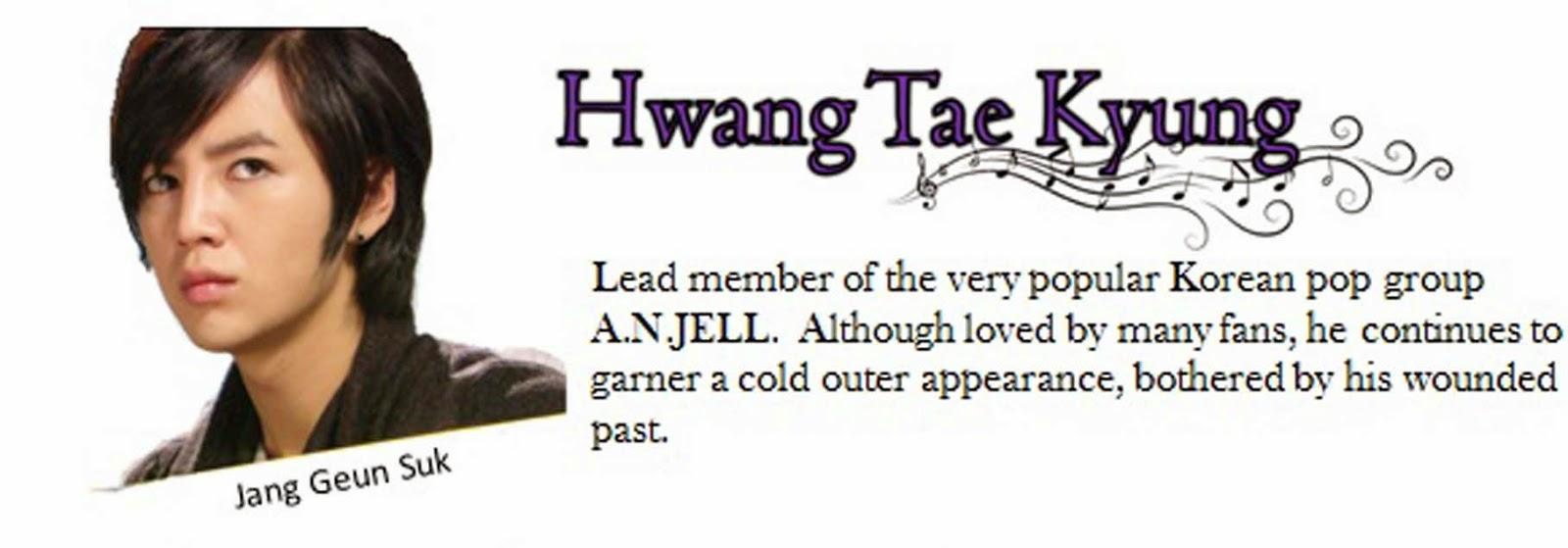 Jang geun suk sebagai Hwang Tae kyung
