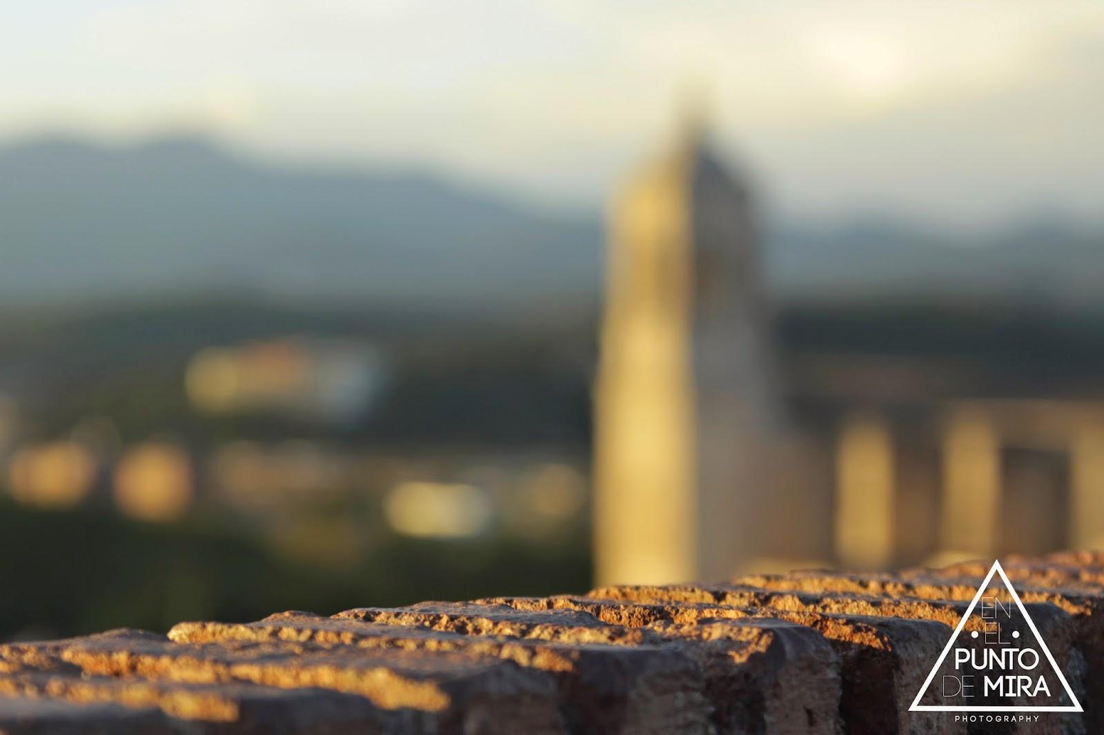 En el punto de mira photography la muralla torre sant domenech catedral girona