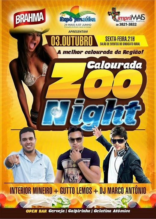 CALOURADA ZOO NIGHT - 03/10/2014