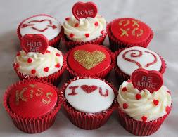 Cupcake saint-valentin