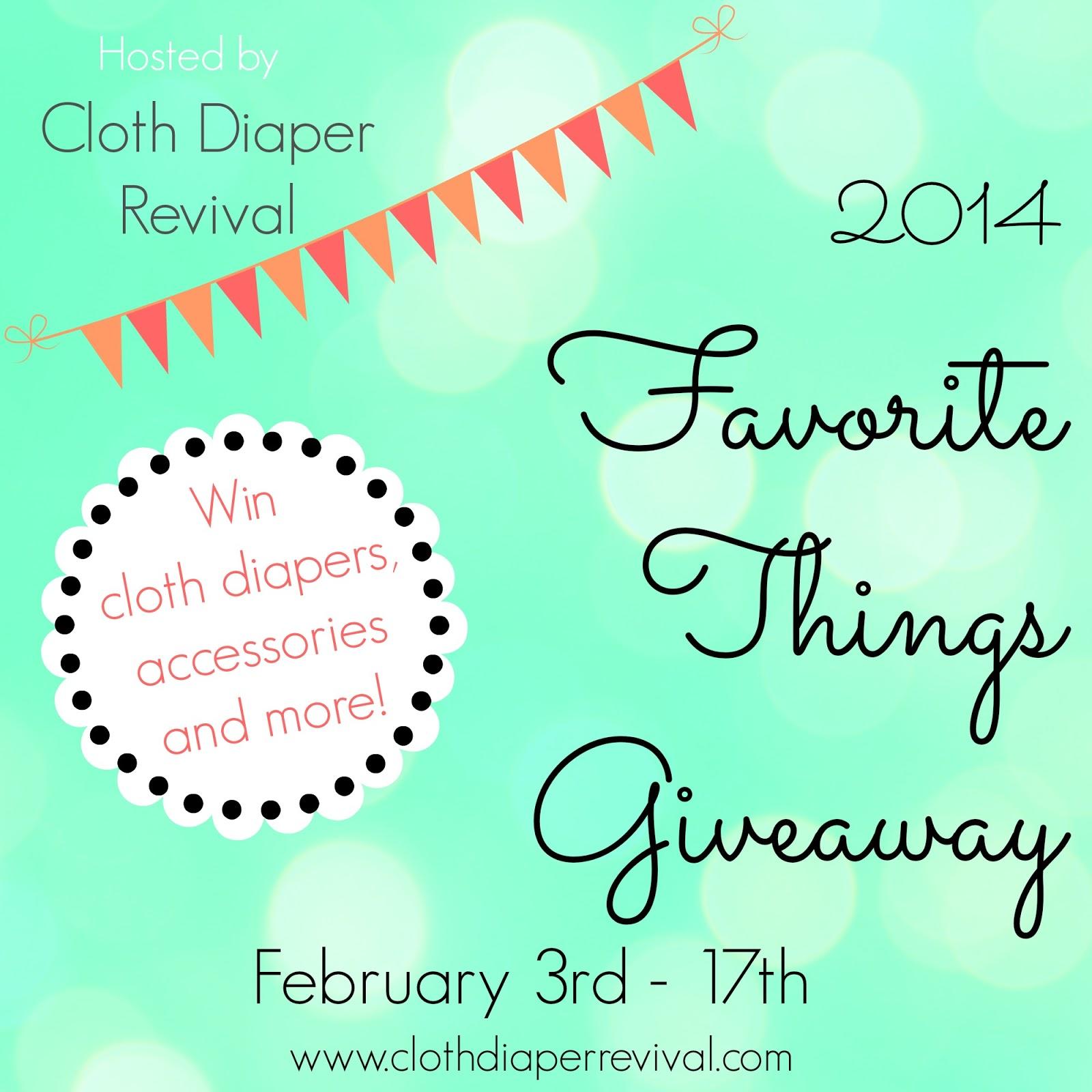 Favorite Things Giveaway Hop 2014