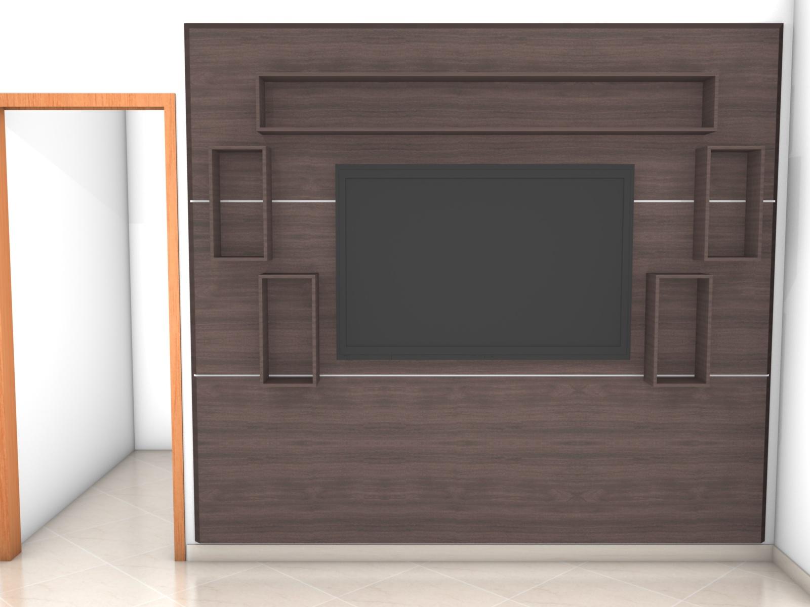 decoracao de interiores para casas simples:Decoração de Interiores Casa: Painel de TV simples