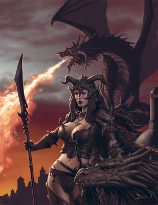 fantasy women warrior