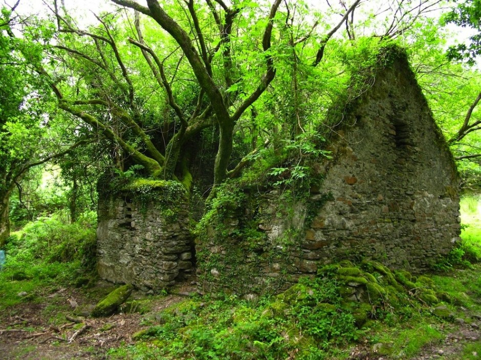 The Kerry Way walking path between Sneem and Kenmare in Ireland - 30 Abandoned Places that Look Truly Beautiful