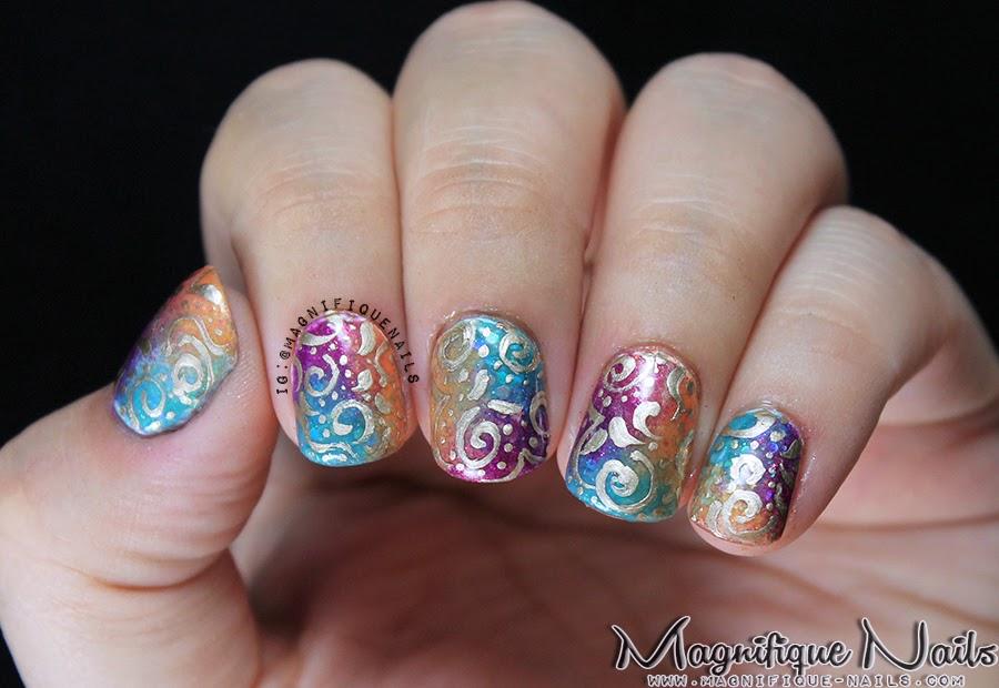 Magically Polished Nail Art Blog Bollywood Nails
